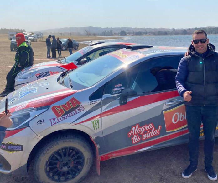 gerardo martinez potrero de garay - Exitoso paso del Rally por Potrero de Garay