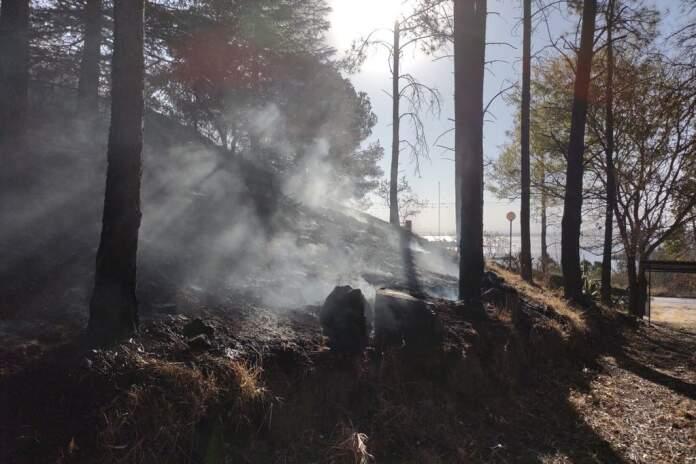 incendio gentileza bomberos - Turista detenida en Calamuchita, sospechada de haber causado incendio después de un asado