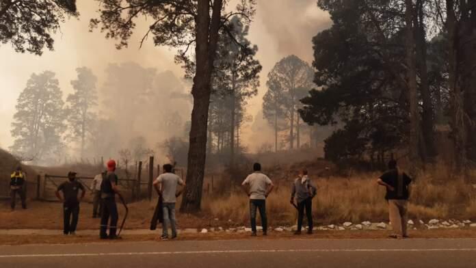 incendio potrero de garay - Tras los incendios, la Asamblea Paravachasca emitió un comunicado