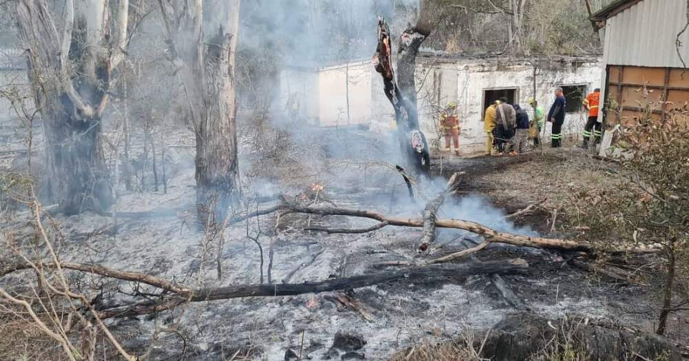 incendio predio el refugio - Denuncian incendio intencional en el Refugio Libertad