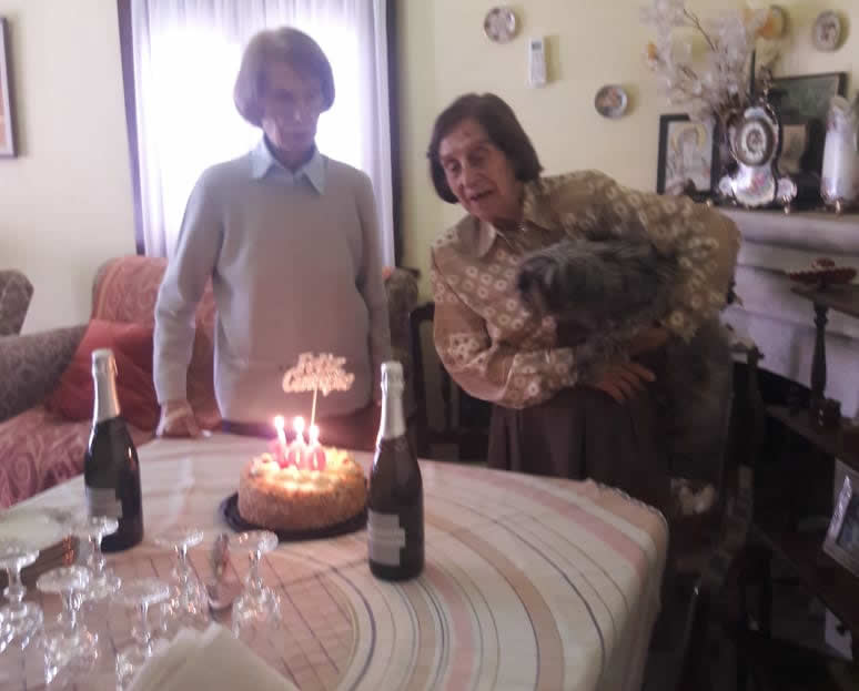 mabel 2 - Que no te parezca poco: Mabel cumplió 100 años