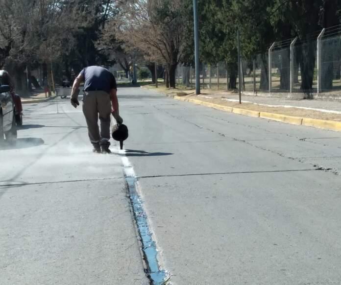mantenimiento calles - El municipio realiza mantenimiento en calles