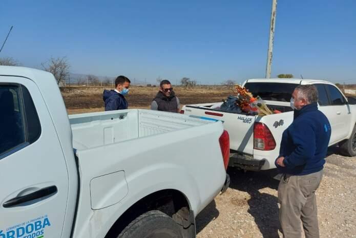 potrero de garay boyeros - Tras los incendios, entregaron elementos para contener los animales