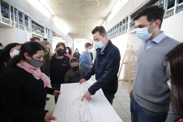 proa despenaderos calvo - Despeñaderos: Calvo visitó la obra de la Escuela ProA