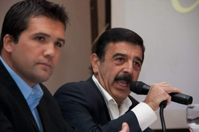 walter intendente facundo vice - Walter Saieg acusó a Schieretti de intervenir políticamente el PJ local