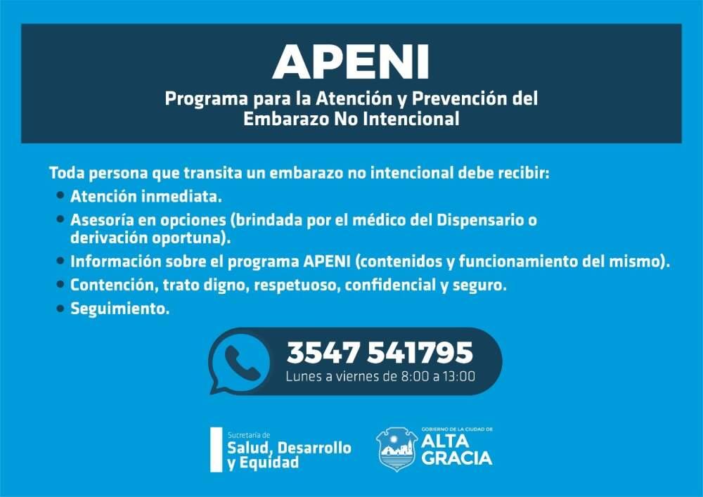 APENI - Alta Gracia: Cómo se aplica la ley de interrupción voluntaria del embarazo