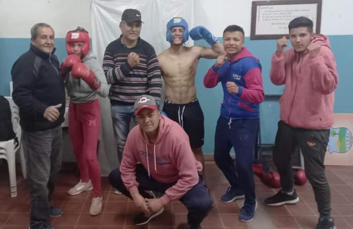 VILLA DEL PRADO COMUNA BOXEO - Villa del Prado: Valentina Luján y Santiago Corzo se preparan para competir de boxeo