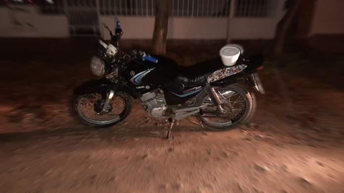 accidente roberto saieg - Un joven motociclista fue asistido tras un accidente