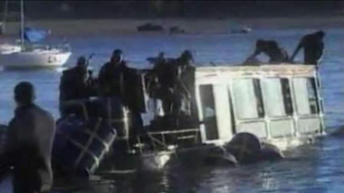 """anfibio lago san roque - Condena contra la Provincia por el hundimiento del """"anfibio"""""""