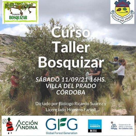 bosquizar taller - Se dictará un curso de Reforestación y Conservación de especies endémicas