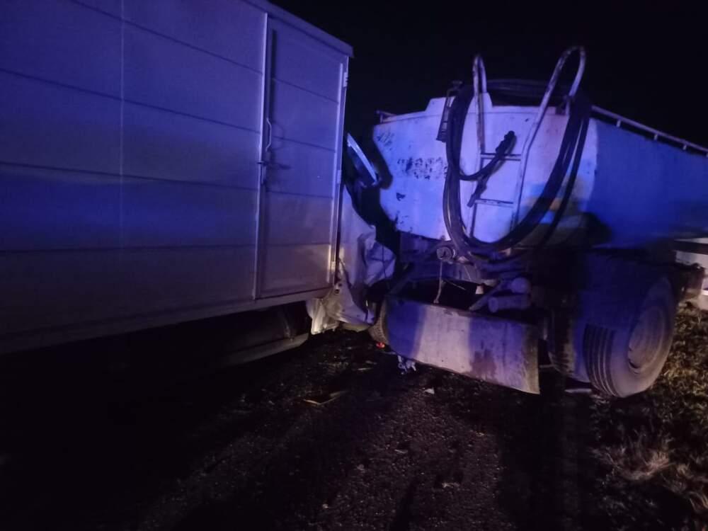 choque ruta 36 - Triple accidente a la altura de Bouwer