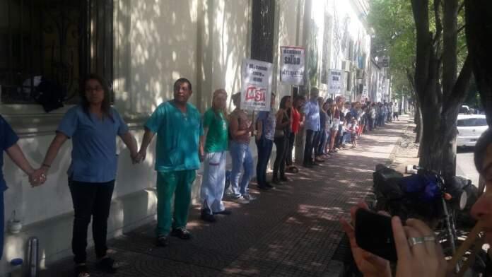 neuropsiquiatrico cba - Paro por tiempo indeterminado en el Hospital Neuropsiquiátrico de Córdoba