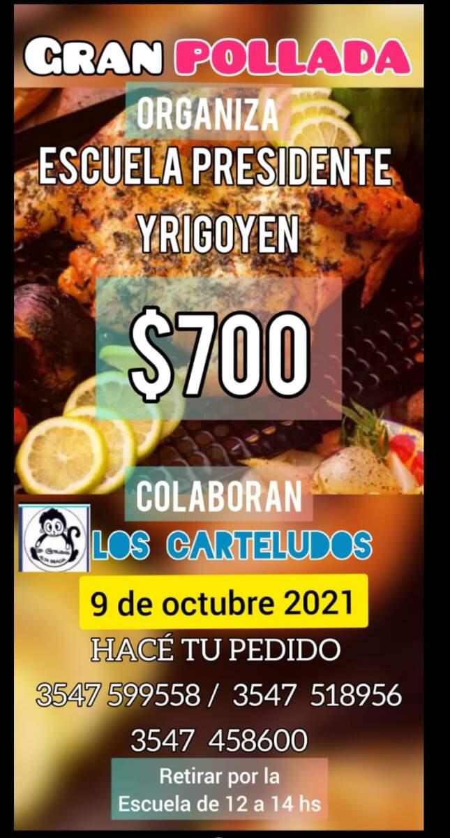 pollada yrigoyen - Pollada solidaria para la escuela Presidente Yrigoyen