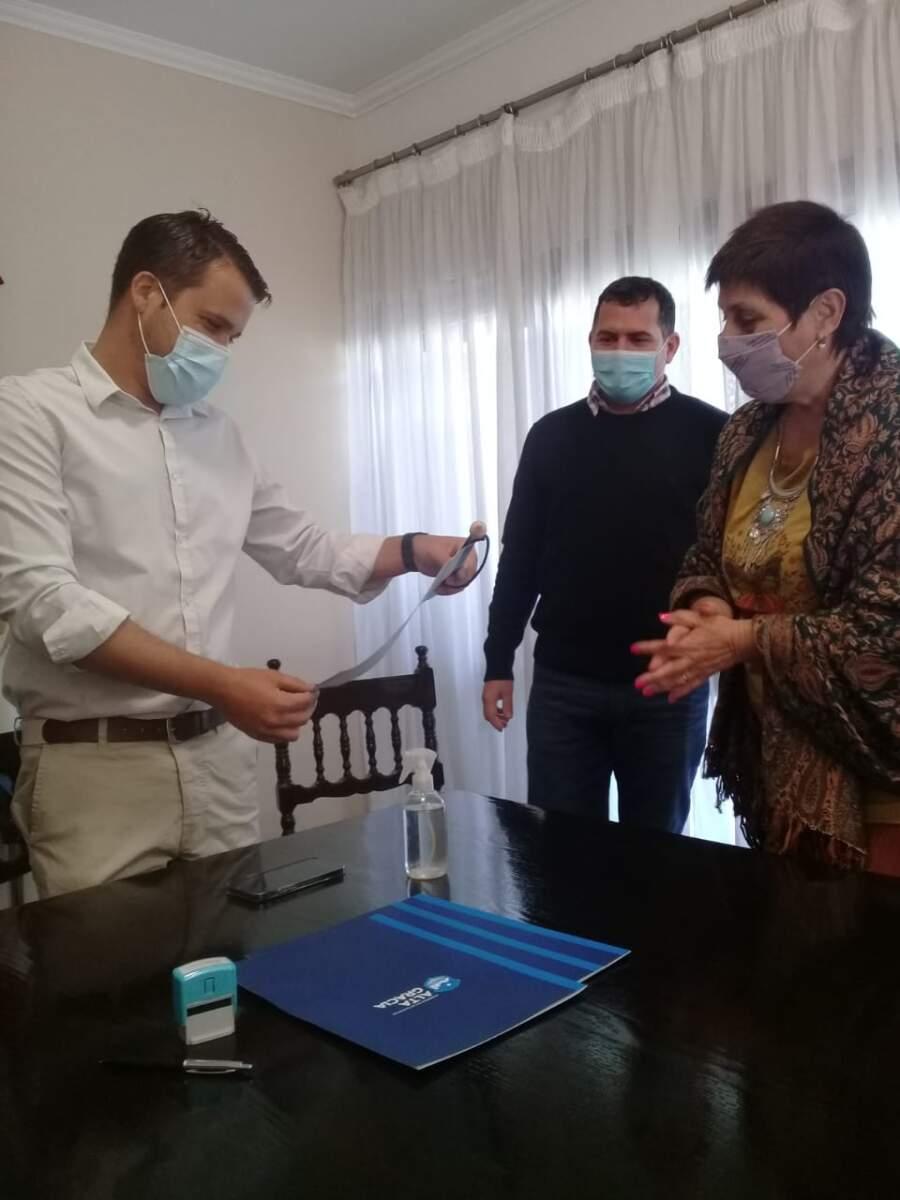 rotary alta graacia3 - Adriana Diaz presidenta de la agrupación Rotaria Cultura Argentina visita Alta Gracia