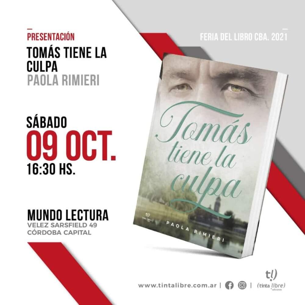 tomas tiene la culpa - La escritora Paola Rimieri presenta su obra en la Feria del Libro